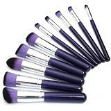 10PCS Makeup Brushes Foundation Powder Blending Eyeshadow Cosmetics Set Kit