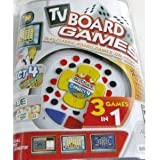 3 In 1 Plug N Play Tv Board Game Featuring Boggle, Connect 4, Roll Over By Hasbro