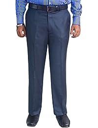 Kinger Men's Flat Front Trousers
