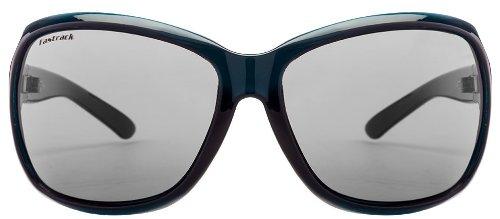 Fastrack Oval Sunglasses (Green Black) (P187BK1F)