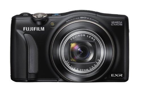 FUJIFILM デジタルカメラ FinePix F770EXR ブラック 1600万画素 EXR-CMOS 広角24mm光学20倍 F FX-F770EXR B