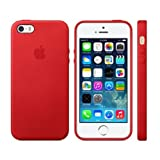 Kayzz Apple Logo Back Case Cover For Apple IPhone 5 / 5S-Red