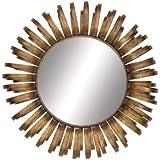The Radiating Metal Wall Mirror