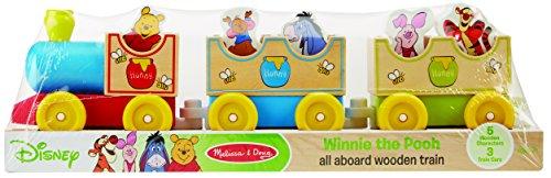 Disney Baby Winnie the Pooh Wooden All Aboard Train
