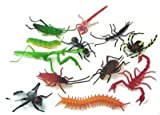 ~ 144 ~ Assorted Realistic Insects / Bugs