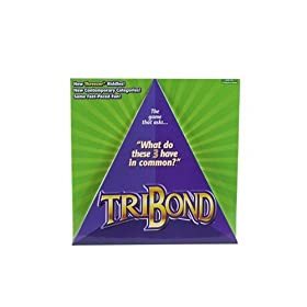 The Tribond game isn't a classic, but you may enjoy it for a while. Click to order from Amazon.