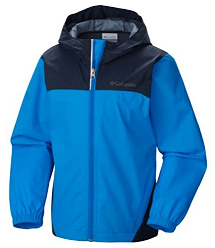 Columbia Little Boys' Glennaker Rain Jacket, Hyper Blue, X-Small
