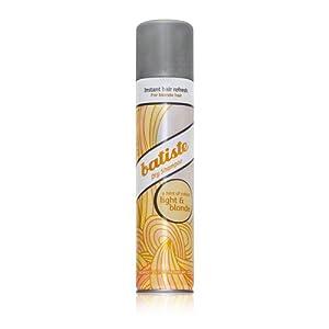 Amazon.com : Batiste Dry Shampoo, Light and Blonde, 6.73