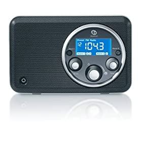 Boston Acoustics Horizon Solo High Performance AM/FM Clock Radio (Midnight)