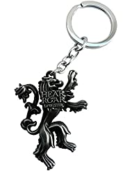 Techpro Premium Quality Metal Keychain With Game Of Thrones Hear Me Roar Design