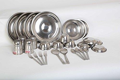 Stainless Steel Dinner Set 30 Pcs