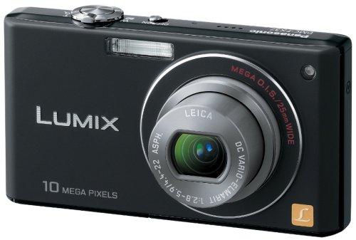 Panasonic デジタルカメラ LUMIX (ルミックス) FX37 エクストラブラック DMC-FX37-K