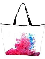 Snoogg Colour Burst Waterproof Bag Made Of High Strength Nylon