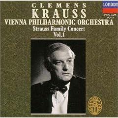 クレメンス・クラウス指揮 シュトラウス・ファミリー・コンサート Vol.1のAmazonの商品頁を開く