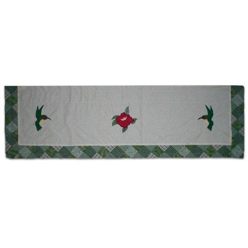 Patch Magic Hummingbird Curtain Valance, 54-Inch