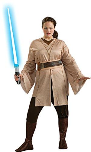 Halloween 2017 Disney Costumes Plus Size & Standard Women's Costume Characters - Women's Costume CharactersRubies Womens Star Wars Jedi Knight Tunic Halloween Themed Fancy Adult Dress, Plus (16-20)