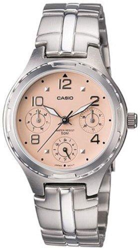 8e87d4e2b5b Casio Enticer Analog Peach Dial Women s Watch - LTP-2064A-4AVDF (A947)