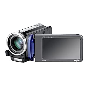 Privatvideo in HD: Sanyo Xacti VPC-TH1EX HD-Camcorder in blau für 129 € inkl. VSK (40 € gespart)