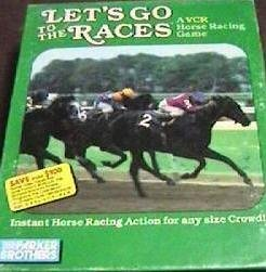 Lets Go to the Races VCR Horse Racing Game