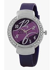 Watch Me Purple Metal Analogue Watch For Women WMAL-100-PR