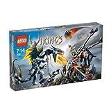 LEGO VIKINGS Double Catapult Vs. The Armored Ofnir Dragon (7021) - B000EXH3PI