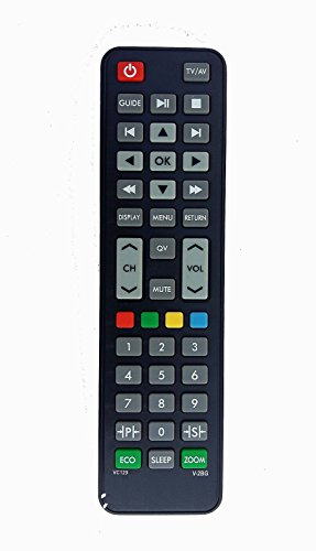 LipiWorld LCD LED TV Universal Remote Control Compatible For VIDEOCON LCD LED TV