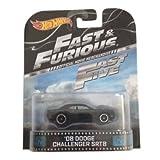 '08 Dodge Challenger SRT8 Fast & Furious Fast Five Hot Wheels 1:64 Retro Entertainment Die Cast