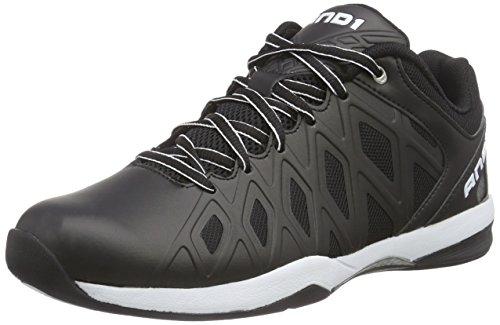 AND1 UNBREAKABLE LOW - Zapatos de baloncesto de material sintético hombre, color negro, talla 42.5