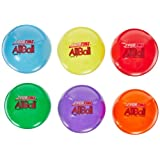 Sportime Multi-Purpose Inflatable All-Balls - 6 Inch - Set Of 6 - Assorted Colors