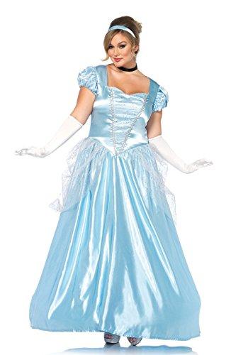 Halloween 2017 Disney Costumes Plus Size & Standard Women's Costume Characters - Women's Costume CharactersClassic Cinderella Costume - Plus Size 3X/4X - Dress Size 22-26