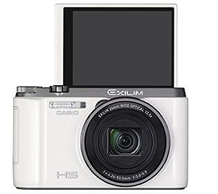 【純正ケースセット】CASIO デジタルカメラ EXILIM ZR1100 ホワイト16.1M画素 EX-ZR1100WESET (ESC-340WE付)