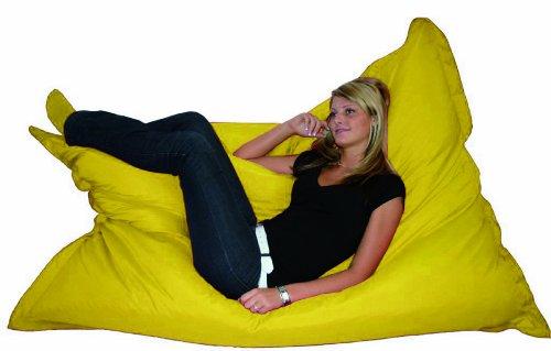 Kinzler K-11163/06 Riesensitzsack 140x180 cm, gelb
