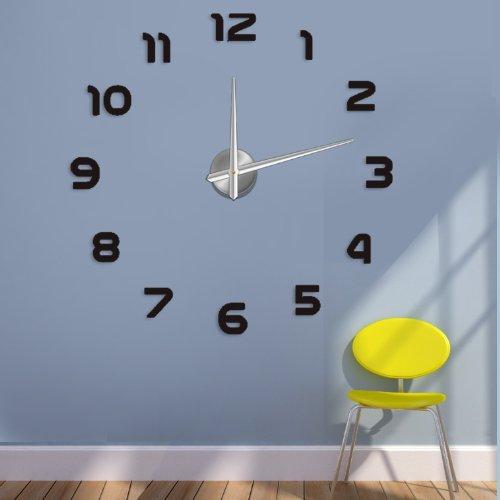 Wanduhr 100 cm 3 D XXL Uhr Moderne Selbst gestaltbare Do-it-yourself Design 2