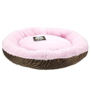 Amazon.com : Precious Tails Ultra Soft Fur Padded Pet Bed
