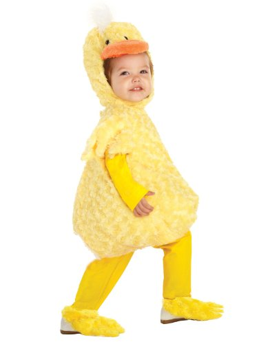 Underwraps Baby's Duck Belly-Babies, Yellow, X-Large