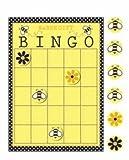 Baby Bee Baby Shower Gift Bingo Game (1 ct)