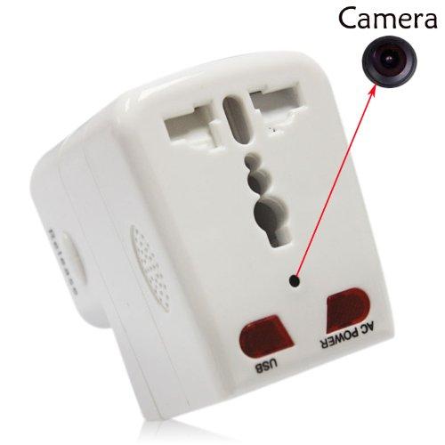 Socket Cum Adaptor with hidden camera, hidden camera in socket products