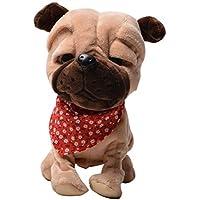 Happy Cherry Electric Leash Dog Plush Toy Dog Music Robot Dog Remote Childrens Toys Electronic Pet Dog Walking...