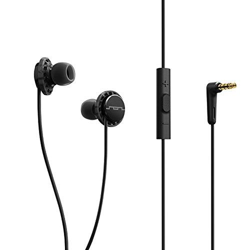 SOL REPUBLIC 1131-31 Relays 3-Button In-Ear Headphones - Black