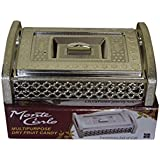 Royal Silver Finish Design Multipurpose Serving Box / Dry Fruit Containers / Serving Box