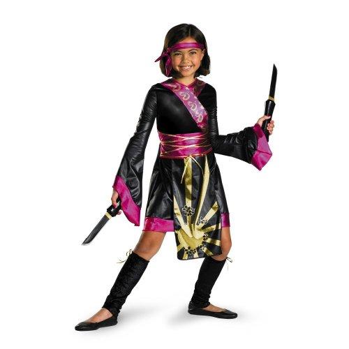 Dragon Ninja Girlu0027s Costume · Dragon Ninja Costume ...  sc 1 st  Creative Costume Ideas & Ninja Halloween Costumes For Kids And Adults