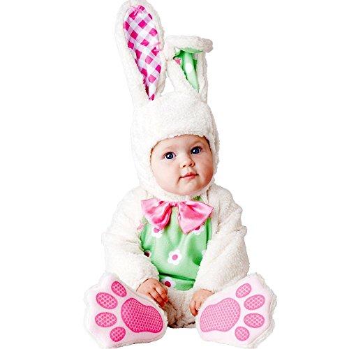 InCharacter Baby's Baby Bunny Costume, White, Small