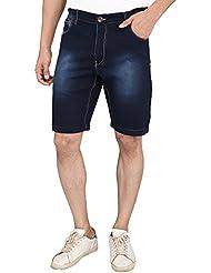 Magneto Men's Blue Denim Shorts 1010