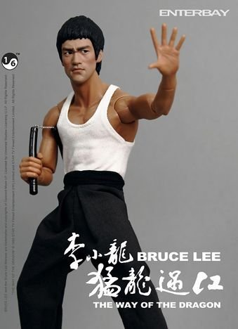 THE WAY OF THE DRAGON way Bruce Lee 12 inches figure to Dragon