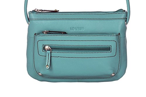 Adamis Beautifully Designed HandBag (Sea Green_B569)