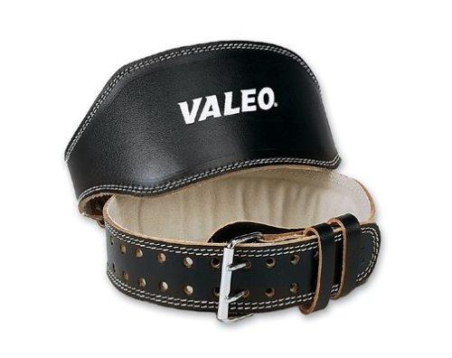 Valeo Lthr Lftng Belt Blk 6in, Large Lrg