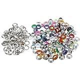 Alcoa Prime 100x Metal Eyelets Scrapbooking DIY Embellishment Clothes Buckle Decor 6mm