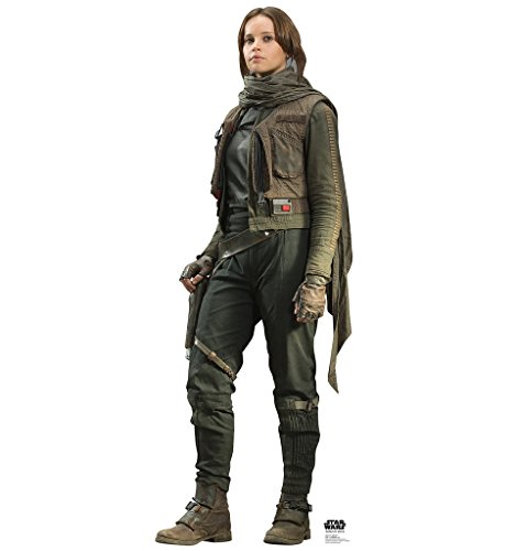 Jyn Erso - Rogue One: A Star Wars Story - Advanced Graphics Life Size Cardboard Standup
