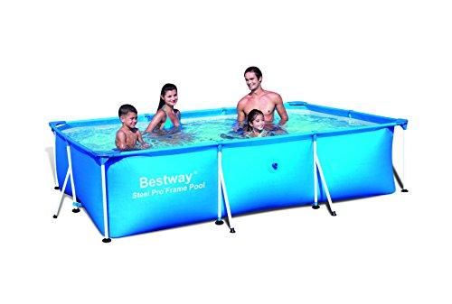 Bestway 56043 Frame Pool Stahlrahmenbecken 300 x 201 x 66 cm