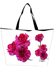 Snoogg Beautiful Flowers Waterproof Bag Made Of High Strength Nylon